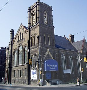 Bathurst Street Theatre - Bathurst St Theatre housed in a former church