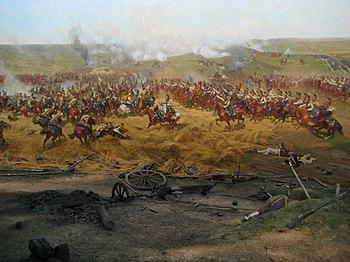 Battle of Borodino panorama - detail 04