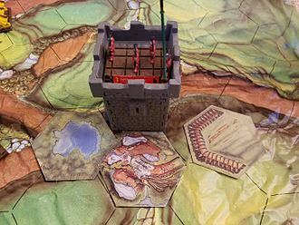 Battle Masters - Tower from battlemasters board game
