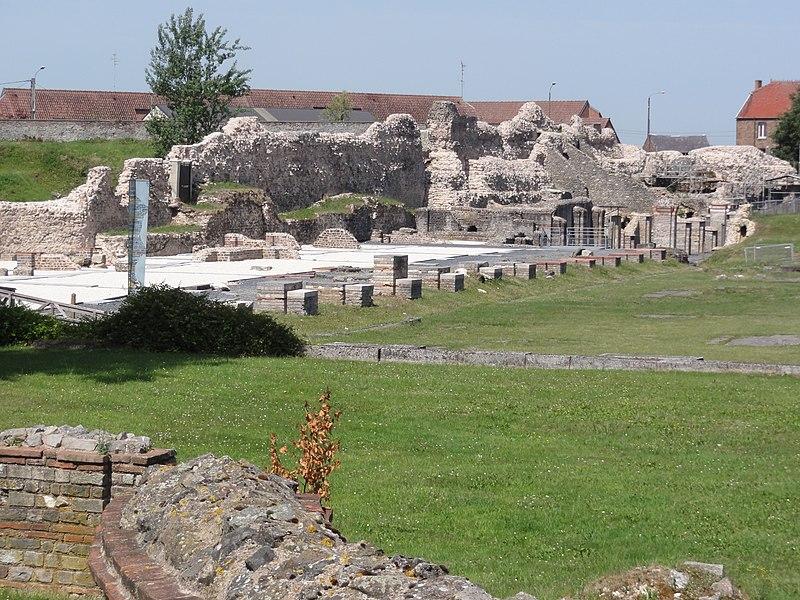 Bavay (Nord, Fr) vestiges cité gallo-romaine 02