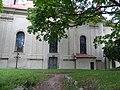 Bečov nad Teplou, kostel sv. Jiří, jihovýchodní průčelí.jpg