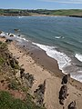 Beach west of Sharpland Point - geograph.org.uk - 1476877.jpg