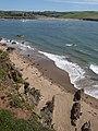 Beach west of Sharpland Point - geograph.org.uk - 1476877.jpg