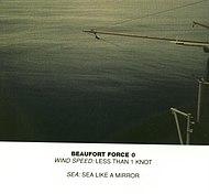 Scala Beaufort, forza 0
