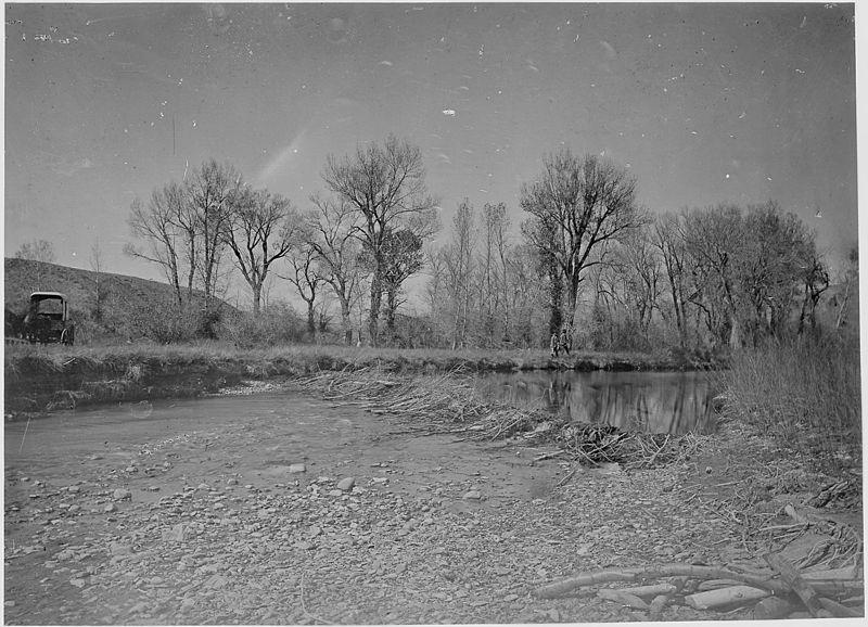 File:Beaver dam on Henry's Fork. Daggett County, Utah - NARA - 516936.jpg