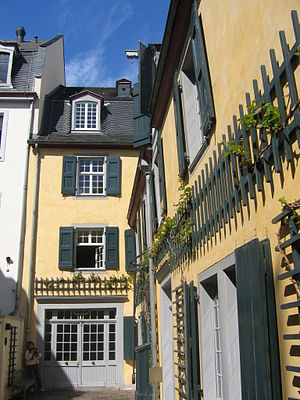 Beethoven House (Beethoven's birthplace) in Bo...