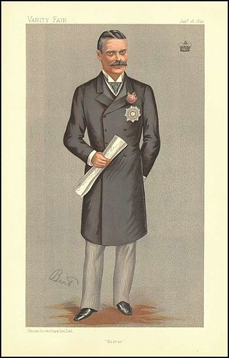Beilby Lawley, 3rd Baron Wenlock - Image: Beilby Lawley, Vanity Fair, 1893 01 28