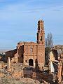 Belchite, església de sant Agustí.JPG