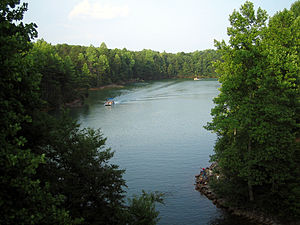 Belews Lake - Image: Belews Lake NC kmf