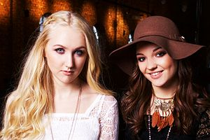 Bella & Filippa - Image: Bella & Filippa Warner Music Sweden