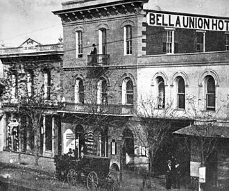 Andrew Jackson King - Bella Union Hotel