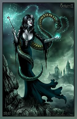 Bellatrix Lestrange by Candra.jpg