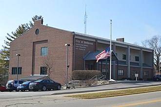 Bellbrook, Ohio - City Hall on Franklin Street, downtown