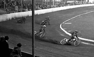 Belle Vue Zoological Gardens - Speedway racing in 1963