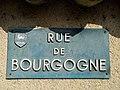 Belleville - Rue de Bourgogne - Plaque (mai 2019).jpg
