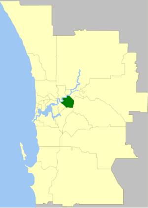 City of Belmont - Image: Belmont LGA WA