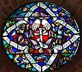 Bemmel - glas-in-loodraam Donatuskerk (1950) van Lou Manche.jpg