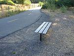 Bench along Spanish Fork River Trail, Jul 15.jpg