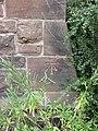 Bench mark on Saltney Christian Centre, Hough Green - geograph.org.uk - 1388210.jpg