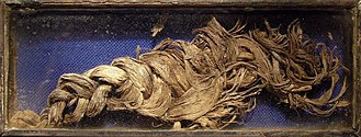 Berengaria of Portugal - Berengaria's plait of hair in St. Bendt's Church, Ringsted.
