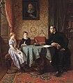 Benjamin Vautier - Eine knifflige Frage (1861).jpg