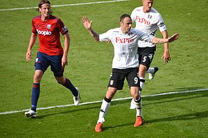 Dimitar Berbatov - Berbatov playing for Fulham