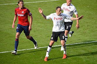 Dimitar Berbatov - Berbatov playing for Fulham