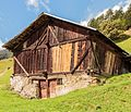 Bergtocht van Peio Paese naar Lago Covel (1,839 m) in het Nationaal park Stelvio (Italië). Oude boerenschuur 05.jpg