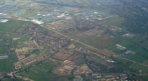 Lansingerland - Aerial view of Berkel en Rodenrijs