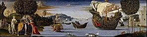 Bernardino Fungai - The beloved of Enalus sacrificed to Poseidon and spared