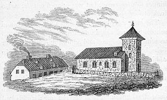 Bessastaðir - Image: Bessastaðir 1834
