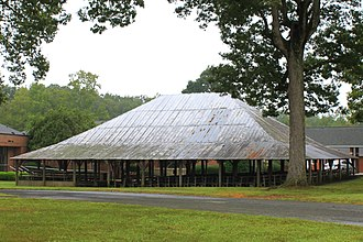 National Register of Historic Places listings in Cabarrus County, North Carolina - Image: Bethel Church Arbor 2