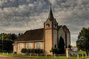 Bruderheim - Bethlehem Lutheran Church in Bruderheim