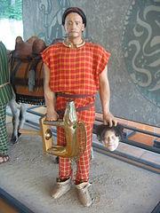 Le chef éduen Dumnorix, Musée de la civilisation celtique, Bibracte