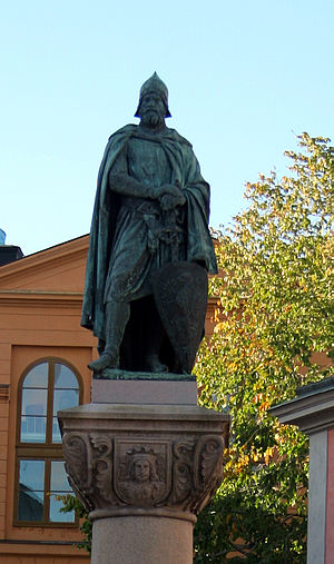 Birger Jarl - Fantasy statue of Birger jarl in Stockholm