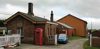 Bishops Lydeard railway station - Image: Bishops Lydeard station down side 2009