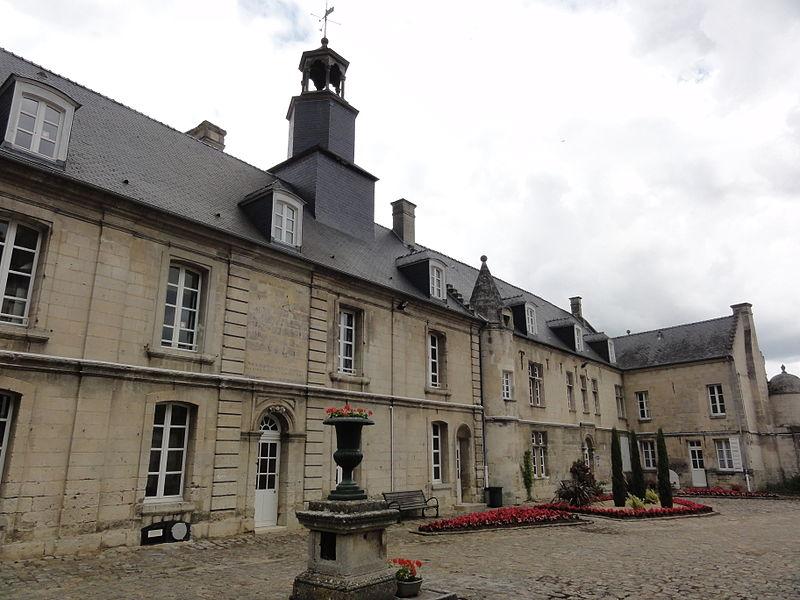 Blérancourt (Aisne) Hôtel de Fourcroy 04, bâtiment principal