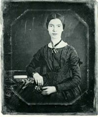 A young Emily Dickinson, sometime around 1846-1847, for many years the only known photograph of her.