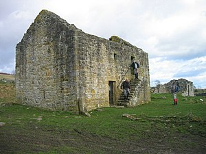 Border Reivers - Black Middens Bastle House, a surviving bastle house