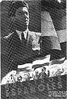 Плакат са ликом Благоја Паровића