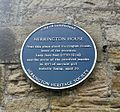 Blue plaque of Herrington House.jpg