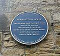 Blue plaque of Herrington House.jpg