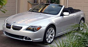 2004 BMW 645Ci cabriolet Photographed in Jupit...