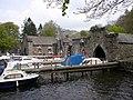 Boathouses, Fell Foot Park, Staveley-in-Cartmel - geograph.org.uk - 171459.jpg