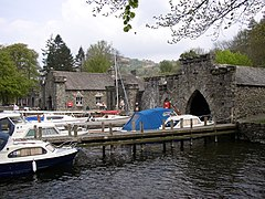 Boathouses, Fell Foot Park, Staveley-in-Cartmel - geograph.org.uk - 171459.jpg
