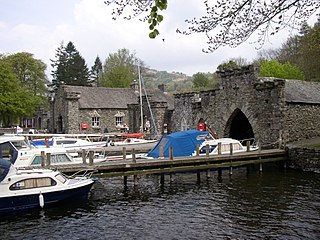 Staveley-in-Cartmel Human settlement in England