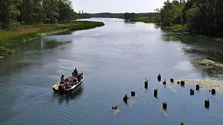 Welland River River in Southern Ontario