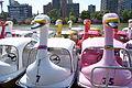 Boats on Shinobazu Pond - Ueno Park, Tokyo, Japan - DSC02033.JPG