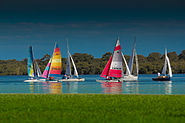 Boats on the Ricmond River at Ballina