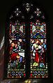 Bobbingworth, Essex, England - St Germain's Church interior - chancel window 01.JPG